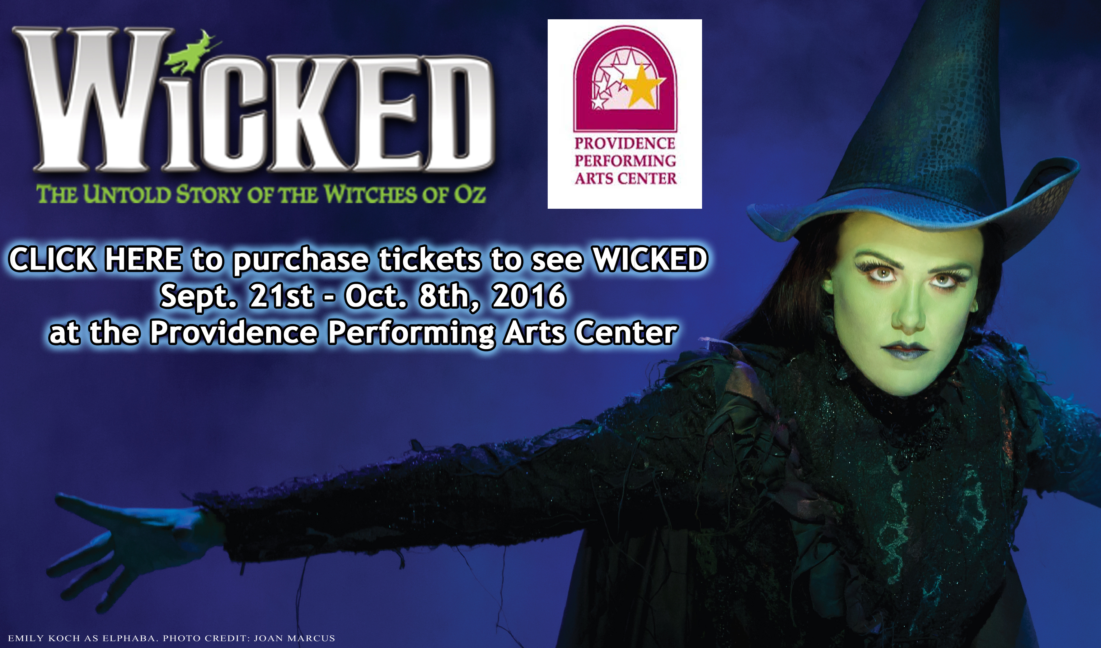 Wicked at PPAC